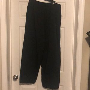 nike track pant/adjustable bottom/good cond